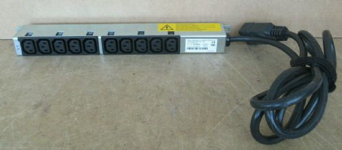 Bachmann 10 x C13 Outlet 240V 10A PDU Extension Bar 333.9935